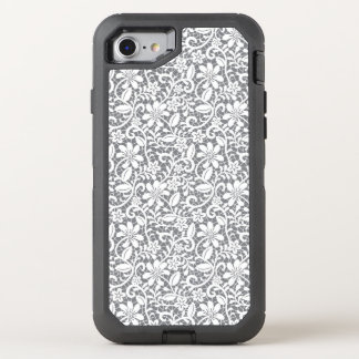 White Lace 1 OtterBox Defender iPhone 8/7 Case