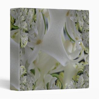 White Lace 3 Fractal Digital Photo Binder