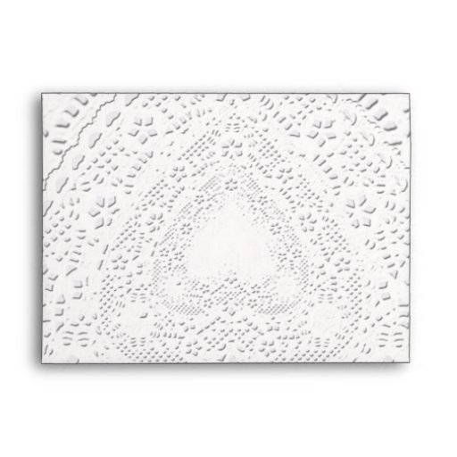 White Lace Fabric  Background Template Envelopes