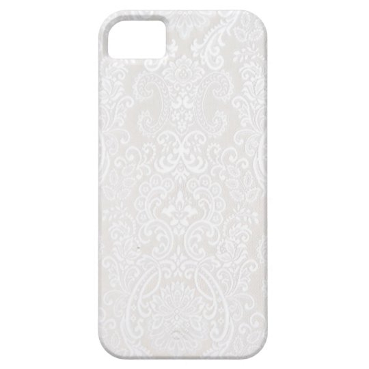 White Lace iPhone SE/5/5s Case