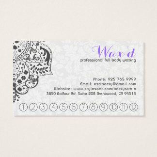 White Lace On Gray Rewords Card