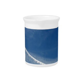 white lace on the sky drink pitcher