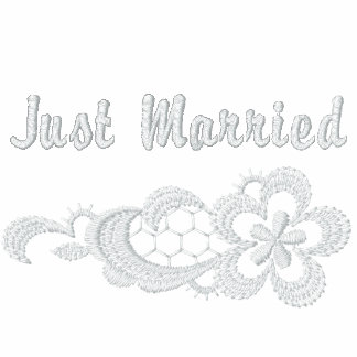 White Lace Wedding - Just Married Jackets