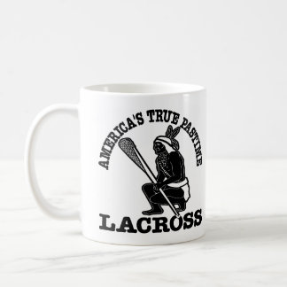 White Lacross USA Pastime Coffee Mug