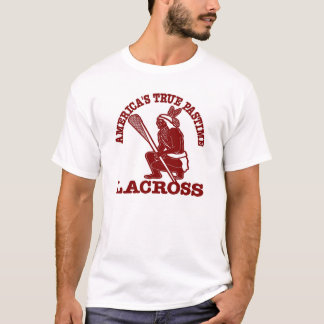 White Lacross USA Pastime T-Shirt