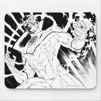 White Lantern Corps Mouse Pad