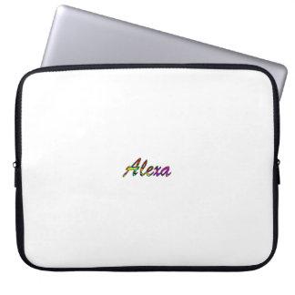 White laptop bag of Alexa Laptop Sleeve