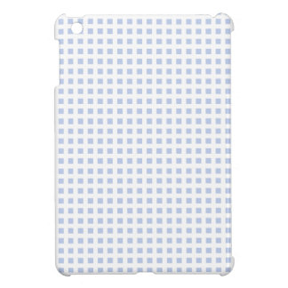 White Lattice on Alice Blue in English Garden Cover For The iPad Mini