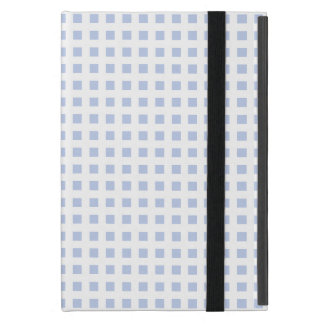 White Lattice on Alice Blue in English Garden iPad Mini Case