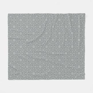 White Leaf  Two   Fleece Blankets, 3 sizes