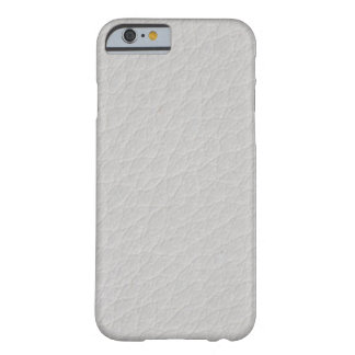 White leather barely there iPhone 6 case