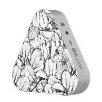White Leaves Bluetooth Speaker