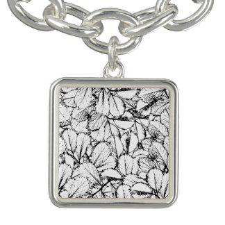 White Leaves Bracelets