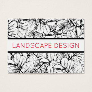 White Leaves Business Card