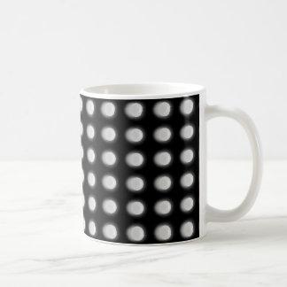 White Leds On Black Mug