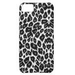 White Leopard Design iPhone 5 Case