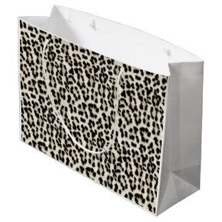 White Leopard Gift Bag