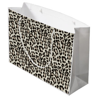 White Leopard Gift Bag Large Gift Bag