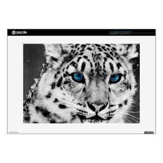 White Leopord skin for laptop Laptop Skins