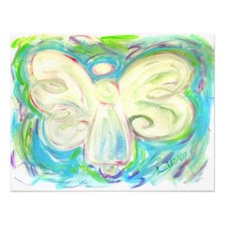 White Light Angel Invitation