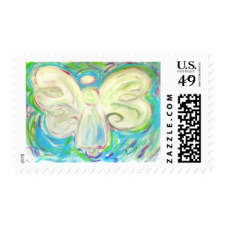 White Light Angel Stamp