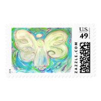 White Light Angel Stamp