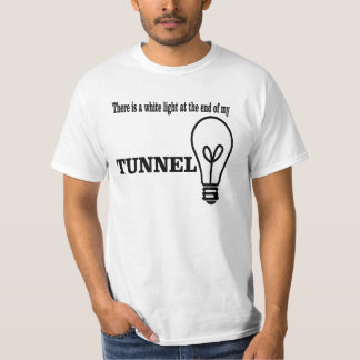 White light at the end of the tunnel. T-Shirt