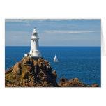 White Lighthouse (Birthday Card)
