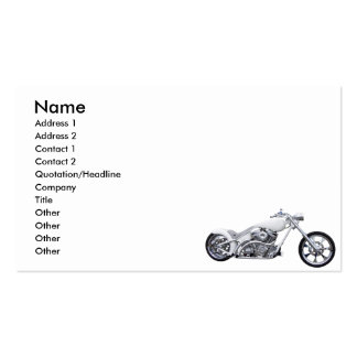 White Lightning Double-Sided Standard Business Cards (Pack Of 100)