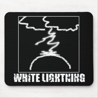 White Lightning Mousepad