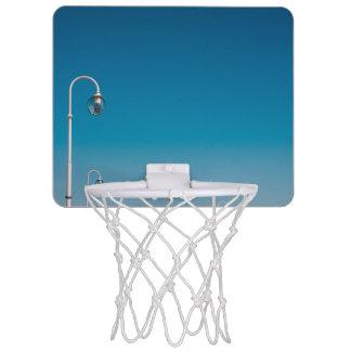 White Lights On A Pier, Blue Sky Mini Basketball Backboard