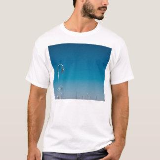 White Lights On A Pier, Blue Sky T-Shirt