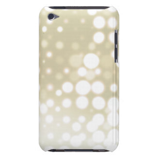 White Lights Polka Dot Pattern Barely There iPod Cover