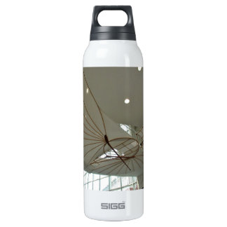 White Lilenthal hang glider in museum Thermos Water Bottle