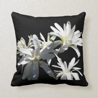 WHITE LILIES American MoJo Pillow