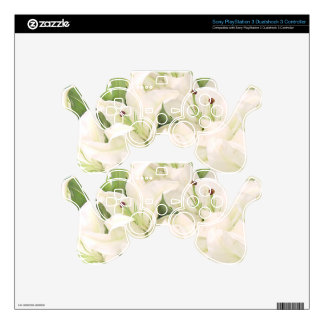 White Lilies,Lilies of love_ PS3 Controller Decals