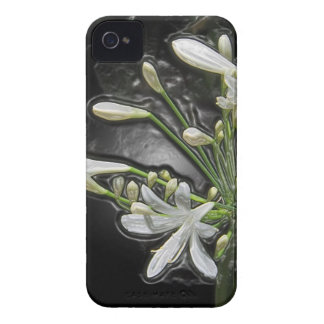 White Lilies Of The Nile In 3D iPhone 4 Case