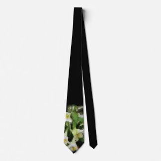 White Lilies - Tie