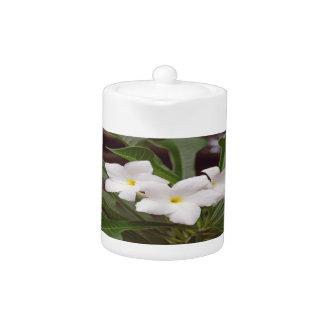 White Lillies Teapot