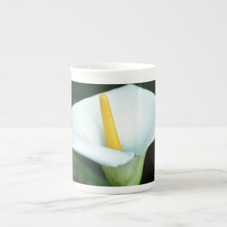 White lily and its meaning bone china mugs