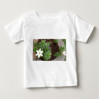 White Lily Baby T-Shirt