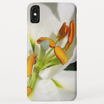 White Lily iPhone XS Max Case