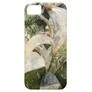 White Lily Easter Art iPhone 5 Cases