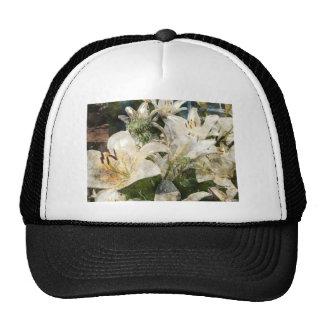 White Lily Easter Art Trucker Hat