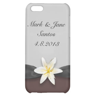 White Lily iPhone 5C Covers