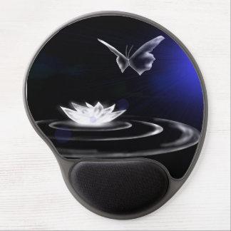 White Lily Magic Ergonomic Mousepad Gel Mouse Pad