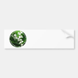 White Lily of the Valley Bumper Stickers