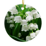 White Lily of the Valley  Ornament
