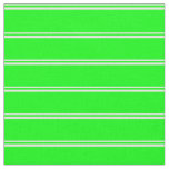 [ Thumbnail: White & Lime Colored Pattern Fabric ]