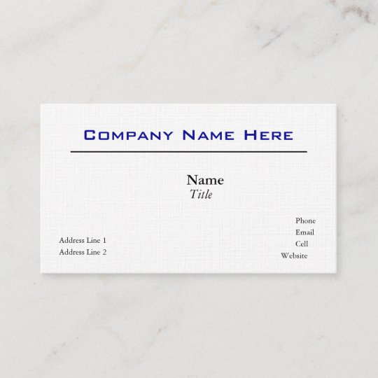 white linen business cards - Linen Business Cards